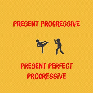 Present progressive or present perfect progressive