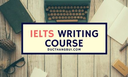 Khóa Học Chữa Bài IELTS Writing – IELTS Writing Correction Online Course