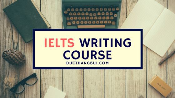 Khoá học chữa bài IELTS Writing Online - IELTS Writing Correction Course