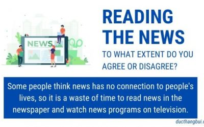 [Sample IELTS Writing Task 2] News Has No Connection To People's Lives – It Is A Waste Of Time To Read News